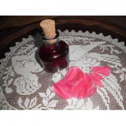 Macérat vinaigré de roses
